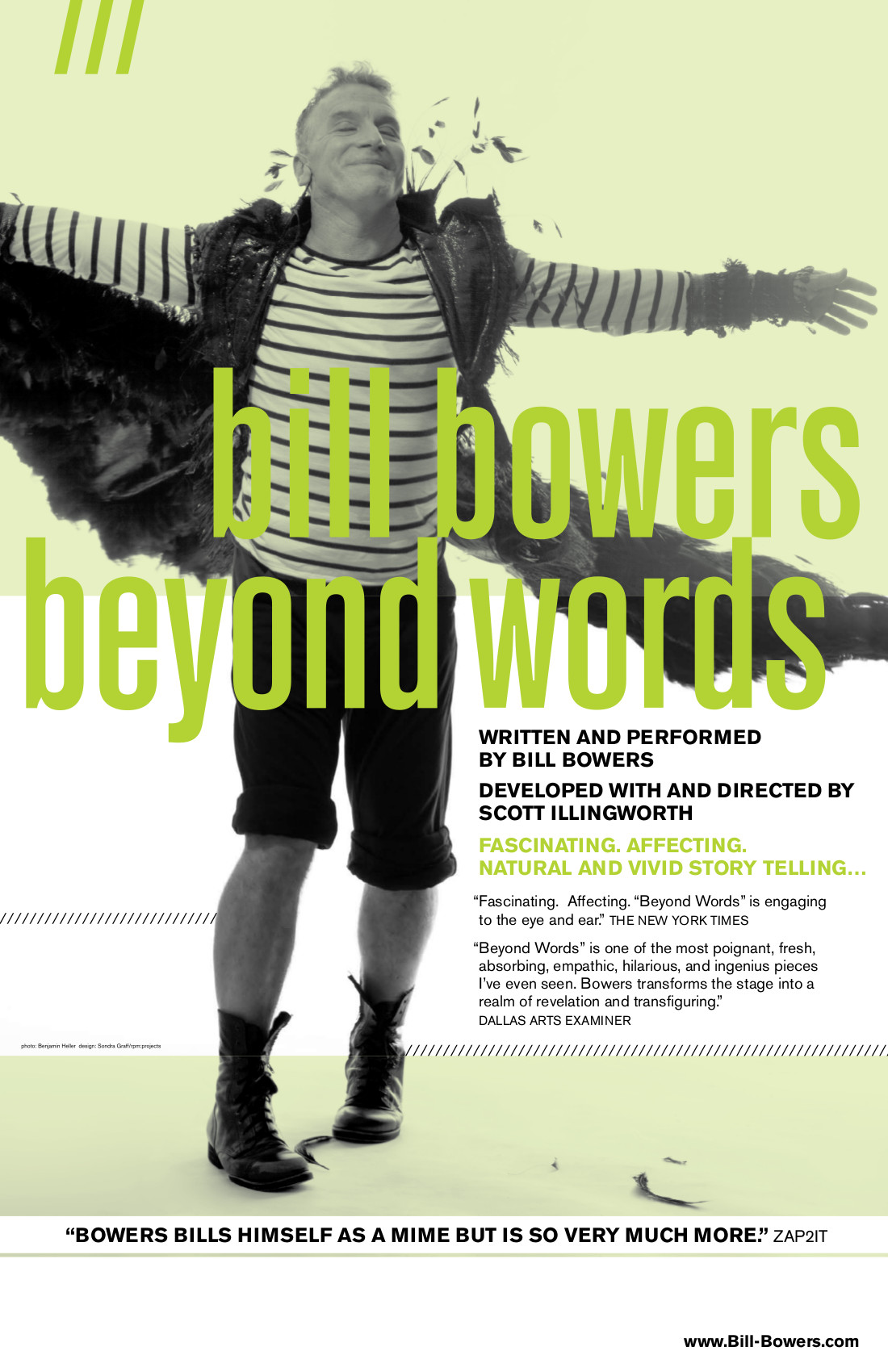 Bill Bowers BEYOND WORDS poster 4 copy